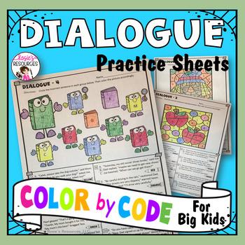 Color by Code Grammar - Dialogue