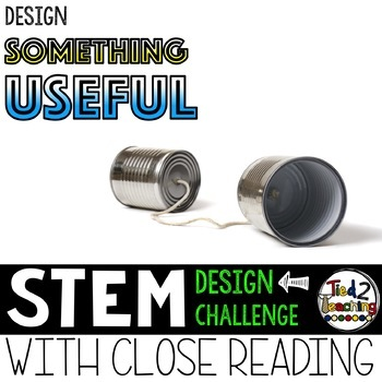 Earth Day STEM Challenge - Design Something Useful