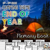 End of the Year Memory Book Activities - Camping Theme