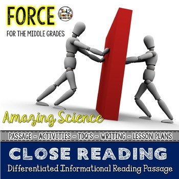 Force Differentiated Close Reading