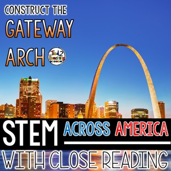50% OFF 1ST 24 HRS Gateway Arch STEM Challenge with Close Reading