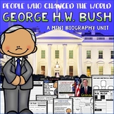 George H. W. Bush Presidents Day Mini Bio Unit