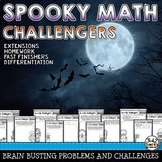 Halloween Math Puzzles Problems and Challenges