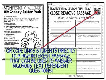 Halloween STEM Spider Web Challenge
