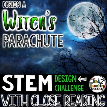 Halloween STEM Witch's Parachute Challenge