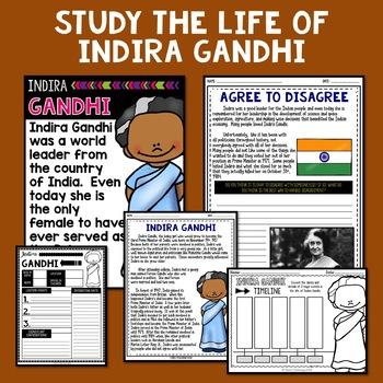 Indira Gandhi Mini Biography Unit