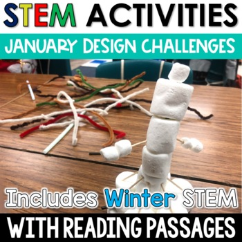 January STEM Challenges with Close Reading