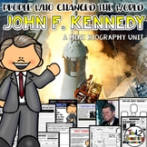 John F. Kennedy Presidents Day Mini Biography Unit