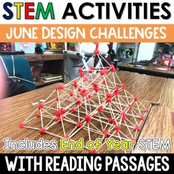 June STEM Challenges with Close Reading