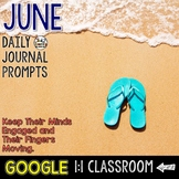 June Writing Prompts for Google Drive