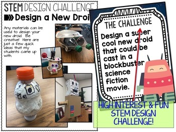 May the Fourth be With You STEM Challenge - Design a New Droid