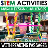 March STEM Challenges with Close Reading