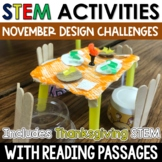 Thanksgiving STEM November STEM Challenges with Close Reading