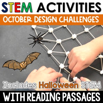 October STEM Challenges with Close Reading