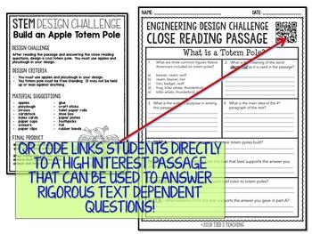 STEM Challenge - Design an Apple Totem Pole