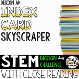 STEM Challenge - Design an Index Card Skyscraper
