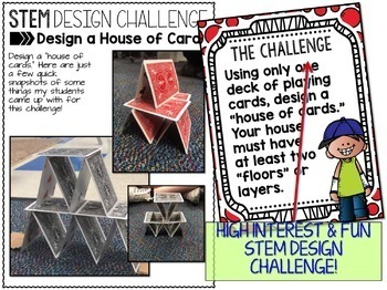 STEM Challenge - House of Cards