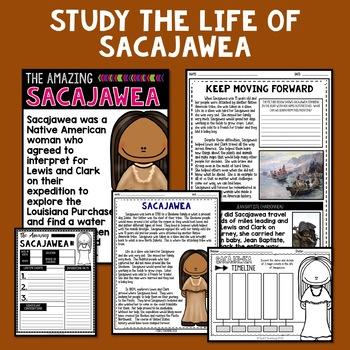 Sacajawea Mini Biography Unit