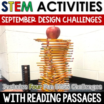 September STEM Challenges with Close Reading