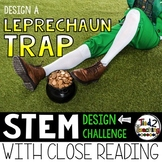 St. Patrick's Day STEM Challenge - Build a Leprechaun Trap