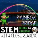 St. Patrick's Day STEM Challenge - Build a Rainbow Bridge