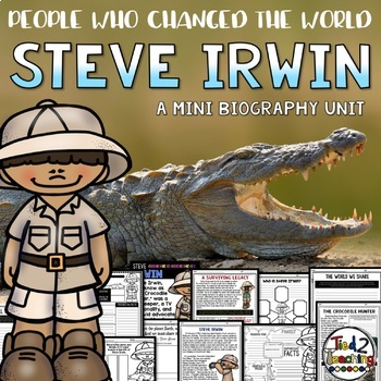 Steve Irwin Mini Biography Unit