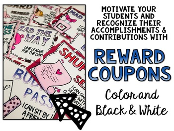Valentines and February Reward Coupons