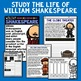 50% OFF 1ST 24 HRS William Shakespeare Mini Biography Unit