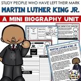Martin Luther King Jr. Mini Biography Unit