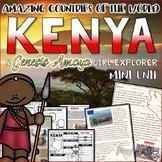 Kenya Country Study Unit a Genesis Amaya Adventure Unit