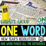 One Word New Years Resolutions and New Years Activities 20