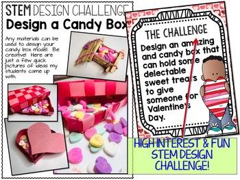 Valentines Day STEM Challenge - Candy Box Design