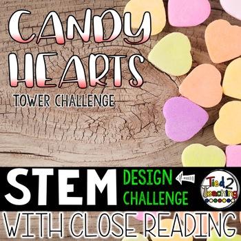 Valentines Day STEM Challenge - Candy Heart Tower Challenge