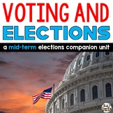 Voting Elections Unit a Midterm Elections Companion