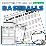 Baseballs Reading Comprehension Passage and Questions