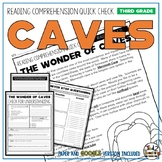 Caves Reading Comprehension Passage and Questions