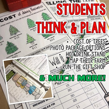 Run a Christmas Tree Farm a Project Based Learning PBL Activity