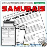 Samurais Reading Comprehension Passage and Questions