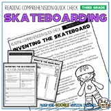 Skateboards Reading Comprehension Passage and Questions