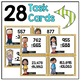Subtracting Whole Numbers Task Cards 4th Grade