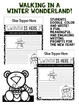 Winter Writing Activity and Bulletin Board