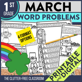 50% OFF 1st 24 HOURS | 1st GRADE MARCH WORD PROBLEMS