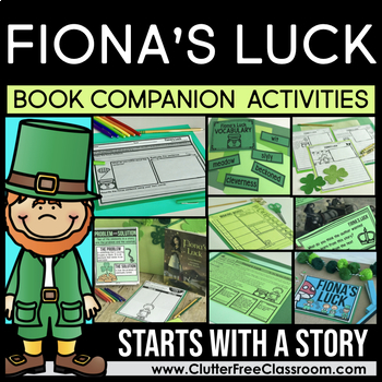50% OFF 1st 24 HOURS  FIONA'S LUCK BOOK COMPANION ACTIVITIES   ST. PATRICK'S DAY