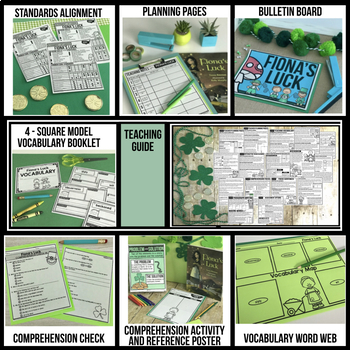 FIONA'S LUCK BOOK COMPANION ACTIVITIES | ST. PATRICK'S DAY