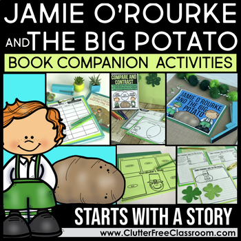 JAMIE O'ROURKE AND THE BIG POTATO COMPANION ACTIVITIES