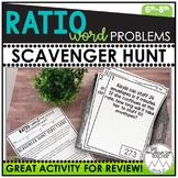 Ratio Word Problems | Scavenger Hunt
