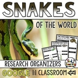 Snakes Report: Research Project Organizers GOOGLE CLASSROOM