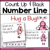 Valentine Number Line Addition and Subtraction