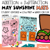 Addition and Subtraction Mats (End of Year Math) (Kinderga