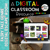 Digital EscapeⓇ Room Breakout Fairy Tale Genre Distance Learning